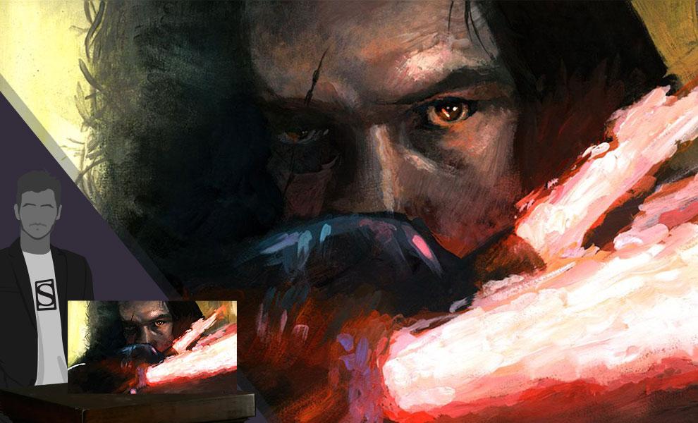 Allegiance to the Dark Side Art Print feature image