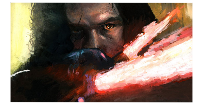 Allegiance to the Dark Side Art Print - Giclee