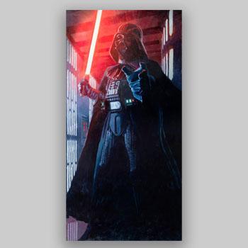 Confronting Vader Art Print