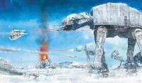 Gallery Image of Assault on Echo Base Art Print