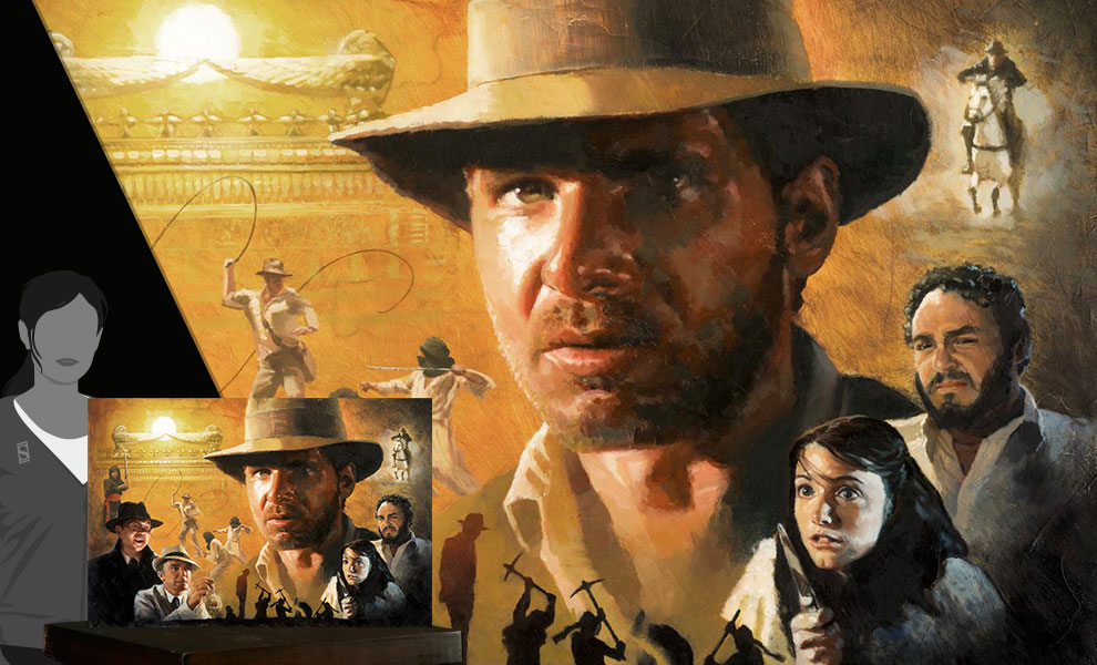 Gallery Feature Image of Ark of the Covenant Art Print - Click to open image gallery