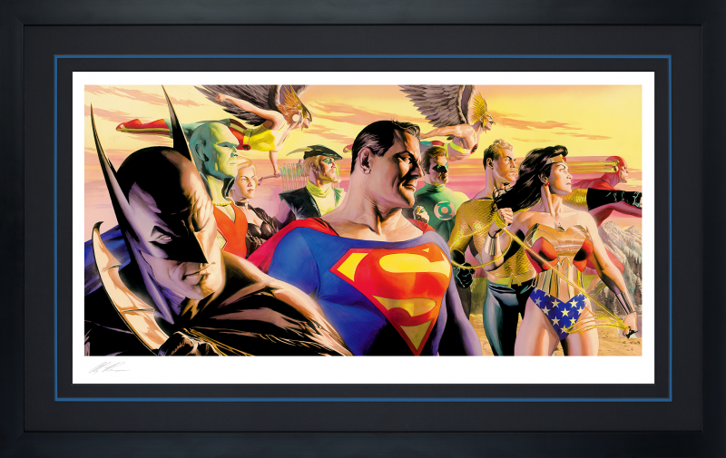In The Light of Justice Art Print -