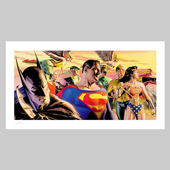 In The Light of Justice Art Print