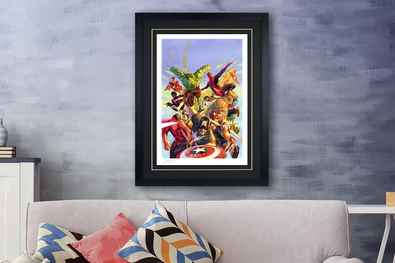 Secret Wars Art Print feature image