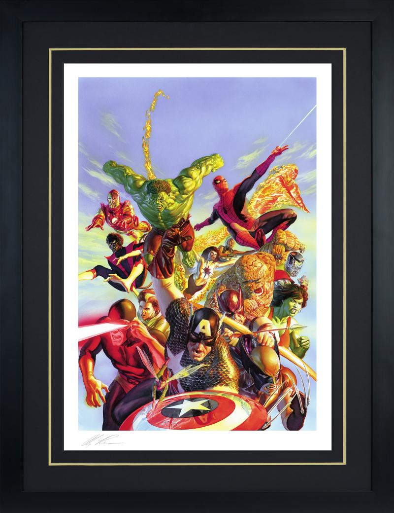 Secret Wars Art Print -