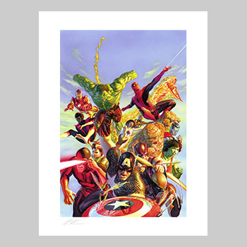 Secret Wars Art Print