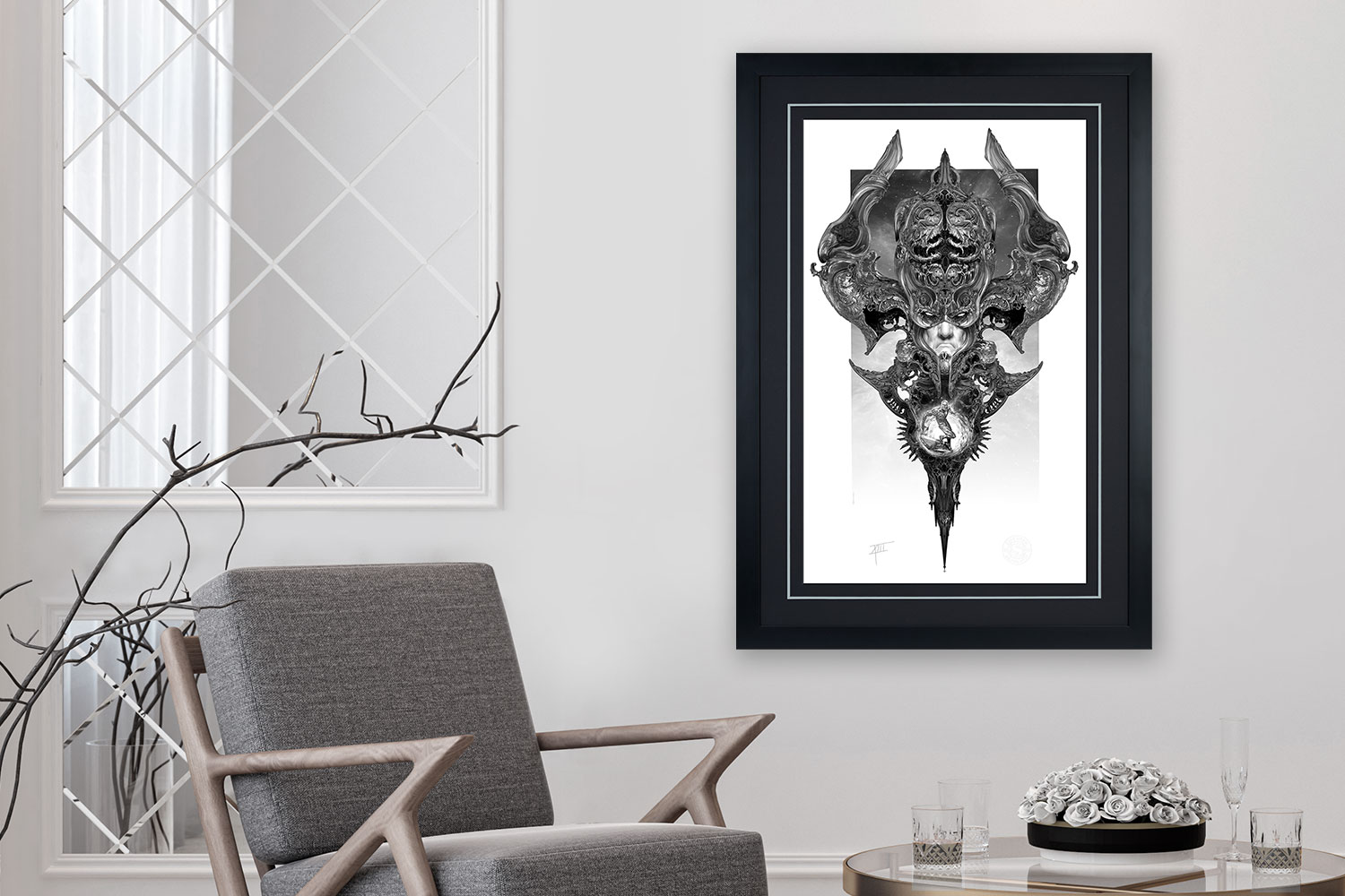 Galactus & the Silver Surfer Art Print feature image