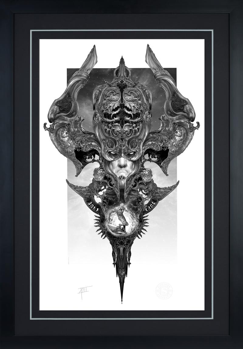 Galactus & the Silver Surfer Art Print -