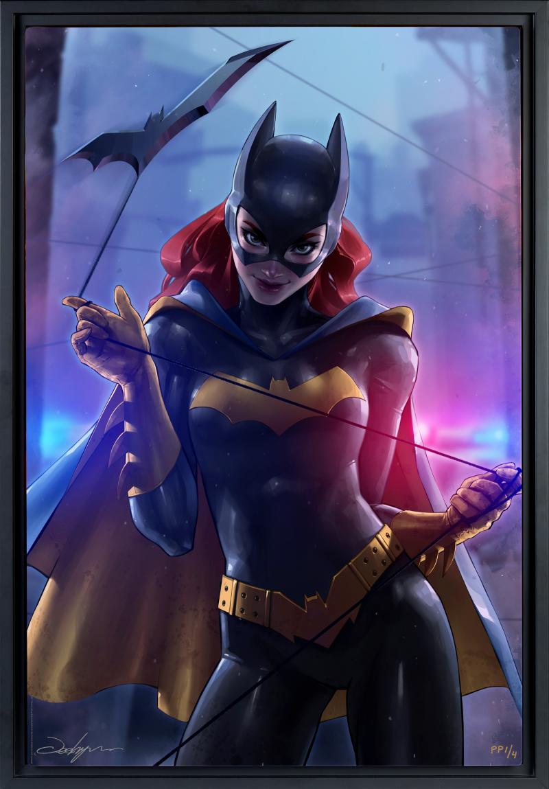 Batgirl Art Print -