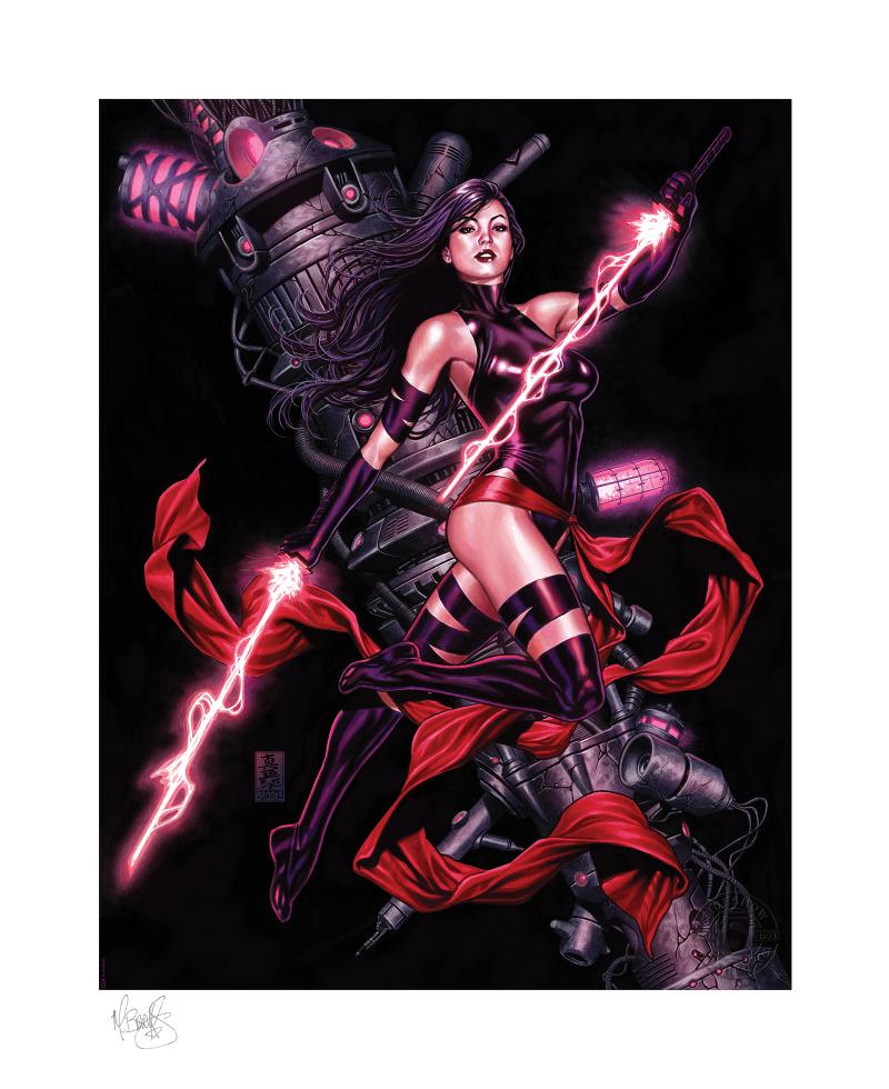 Psylocke Art Print -