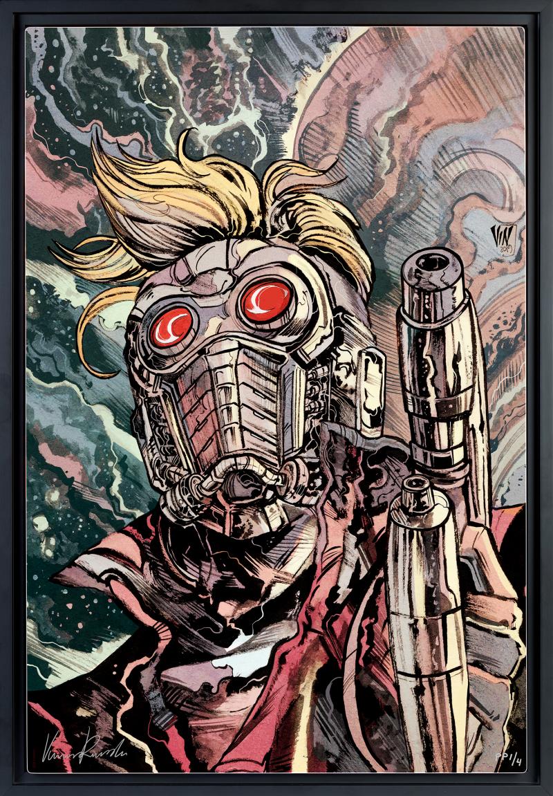 Star-Lord Art Print -