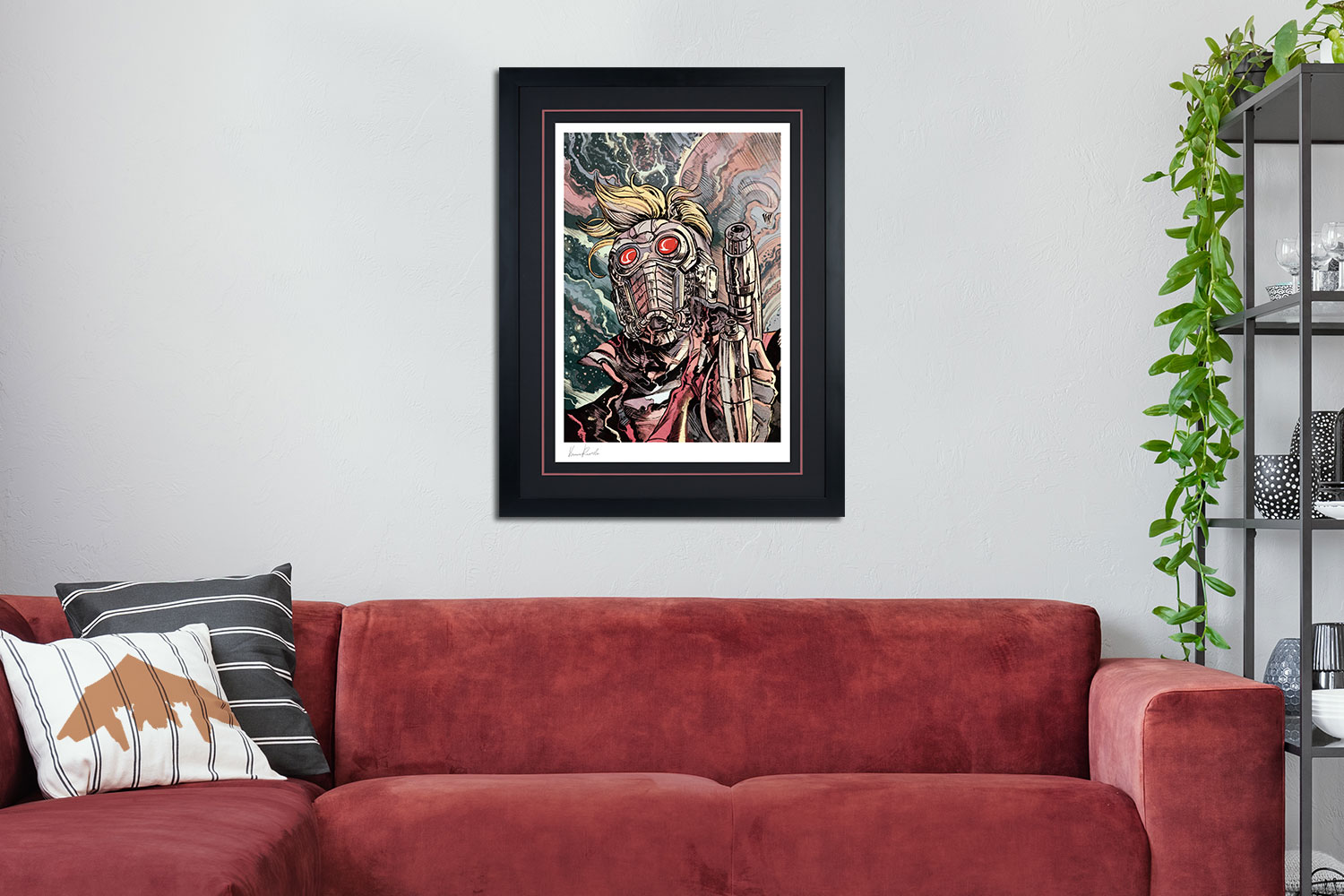 Star-Lord Art Print feature image