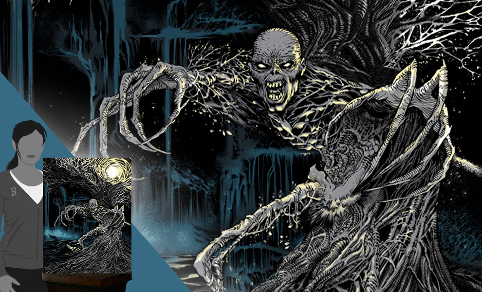 Gallery Feature Image of Fear of the Dark Art Print - Click to open image gallery