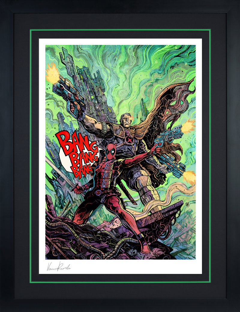 Deadpool & Cable Art Print -