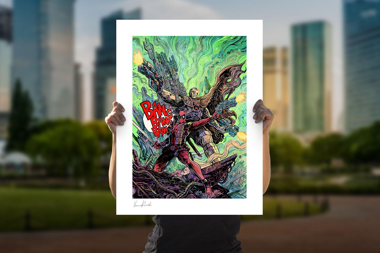 Deadpool & Cable Art Print feature image