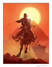 Gallery Image of Escape from Atens Tomb Art Print