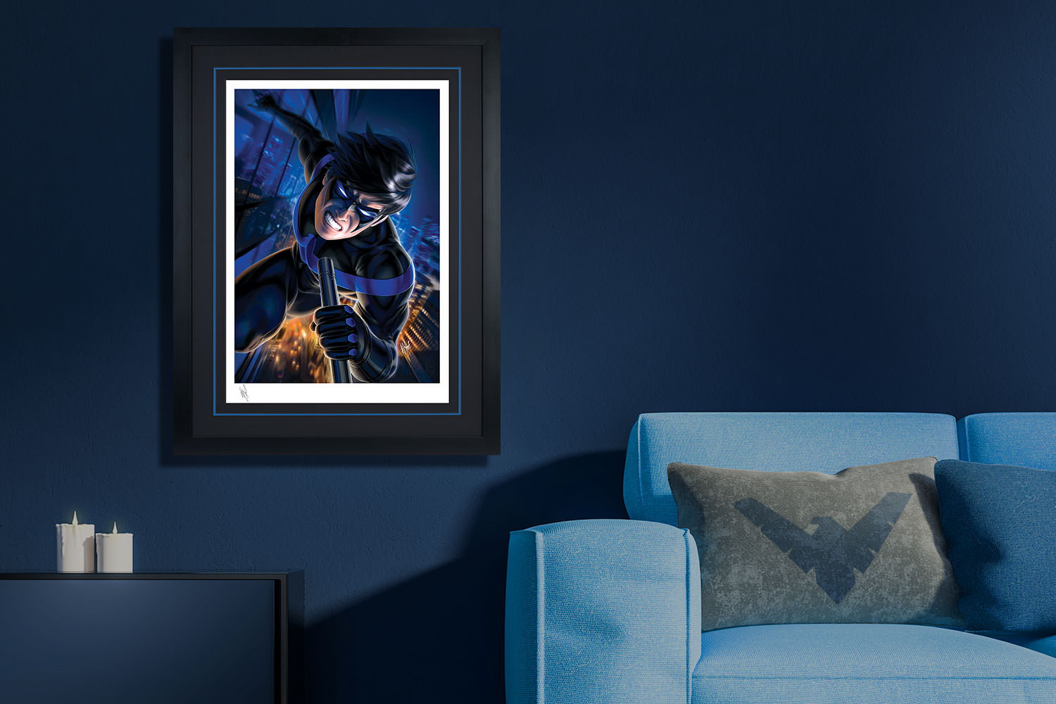 Nightwing Art Print feature image