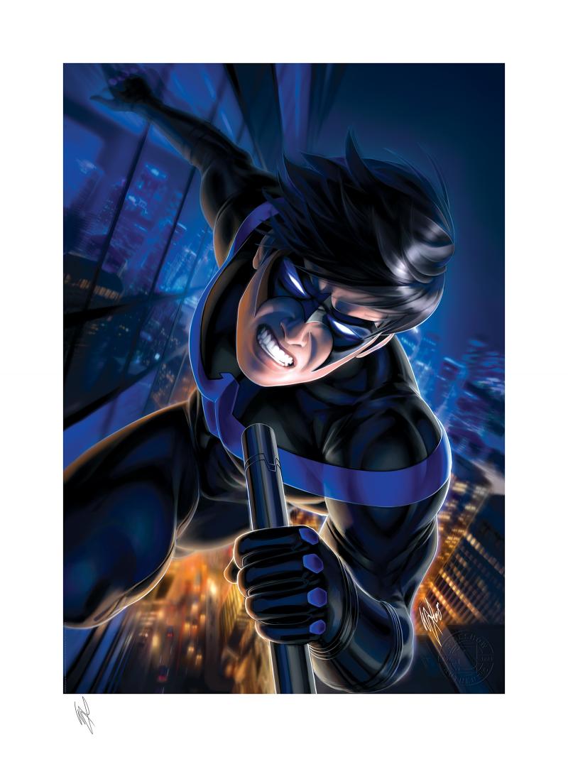 Nightwing Art Print -