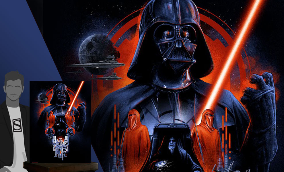 Gallery Feature Image of The Dark Side Art Print - Click to open image gallery