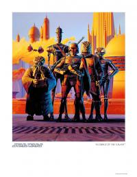 Gallery Image of Scourge of the Galaxy Art Print