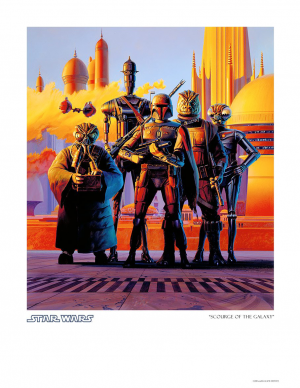 Scourge of the Galaxy Art Print