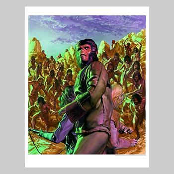 Cataclysm Issue #4 Art Print