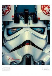 Gallery Image of AT-AT Driver Art Print