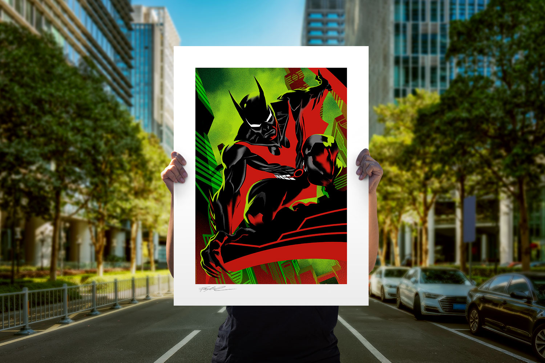 Batman Beyond #37 Art Print feature image