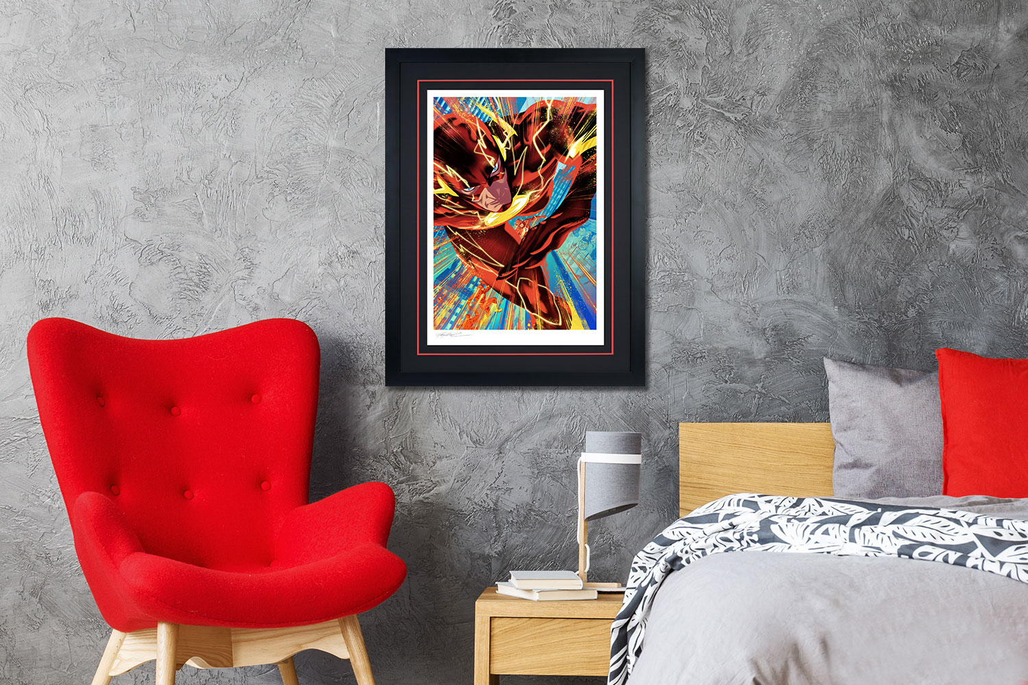 The Flash #750 Art Print feature image