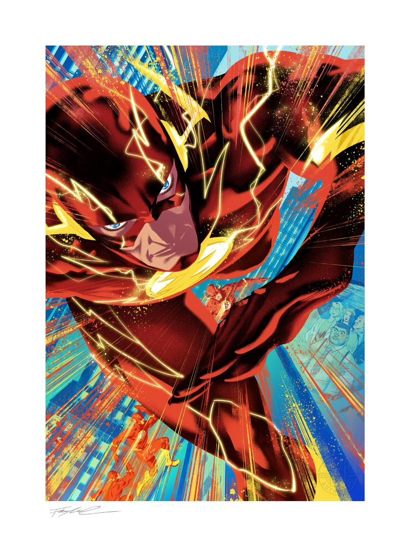 The Flash #750 Art Print -