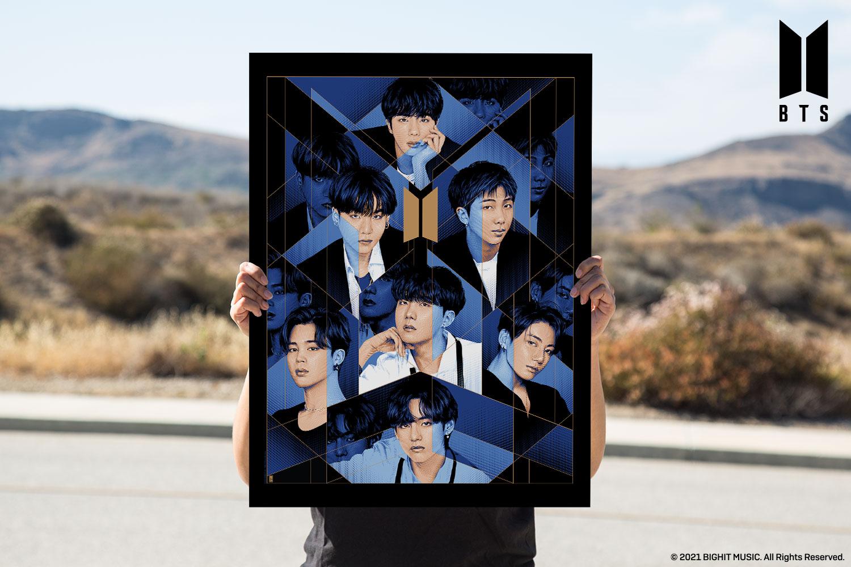 BTS: BE Art Print feature image