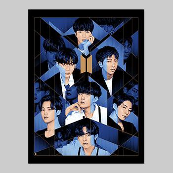 BTS: BE Art Print