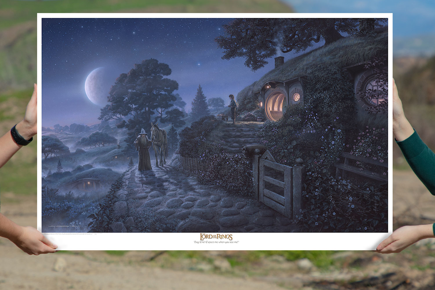 Bag End: Expect Me When You See Me! Art Print feature image