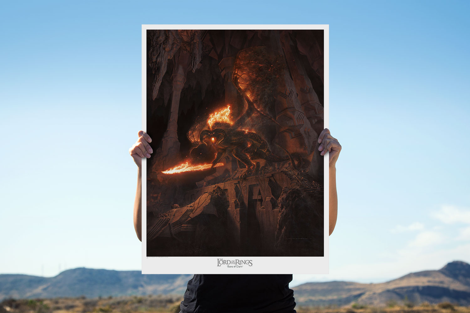 Bane of Durin Art Print feature image
