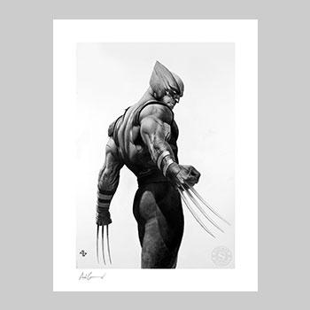 Wolverine - Black & White Variant Art Print
