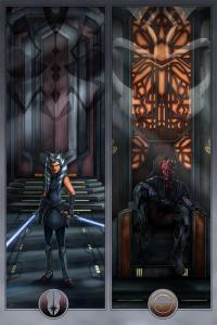 Gallery Image of Face Off On Mandalore Art Print