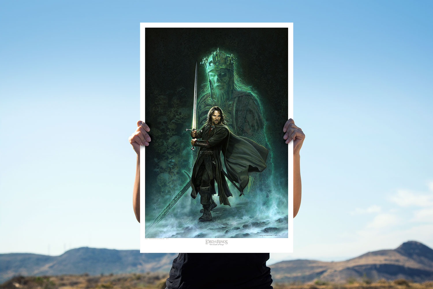 The Clash of Kings Art Print feature image
