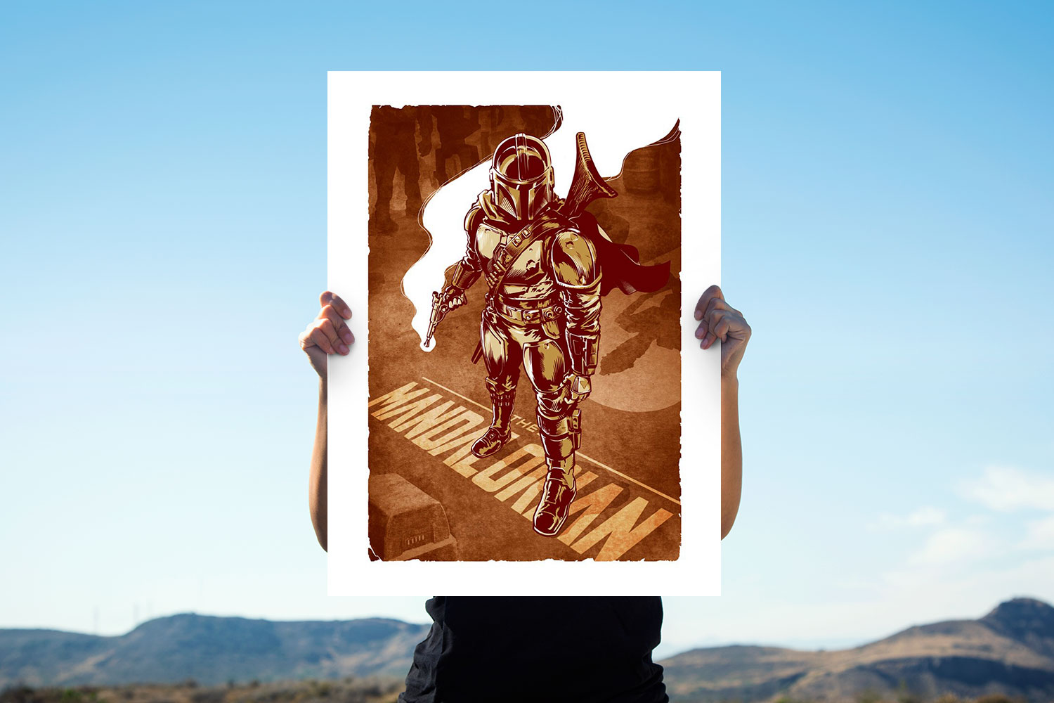 This is the Way Art Print feature image