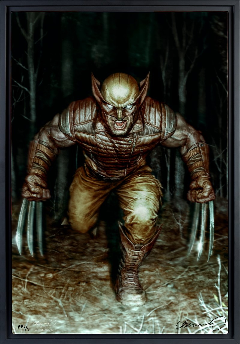 Wolverine Art Print -
