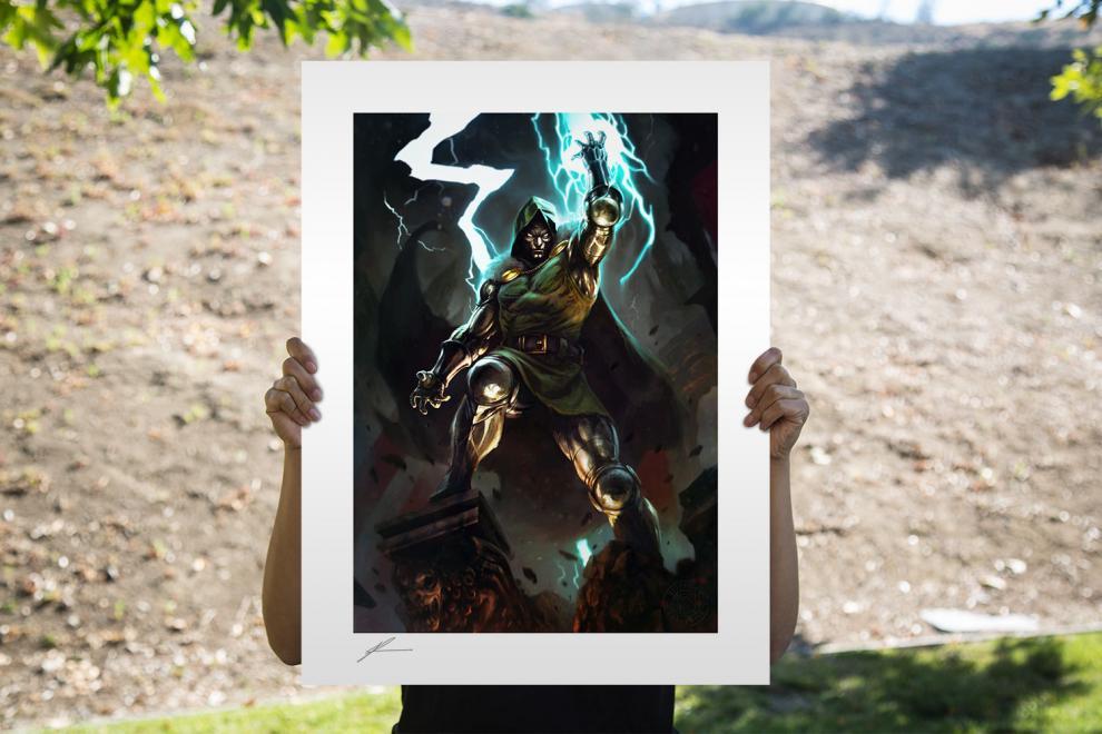 Doctor Doom Fine Art Print by Richard Luong