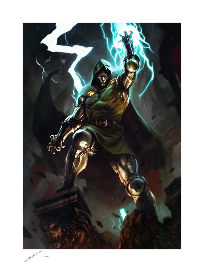 Doctor Doom Art Print -