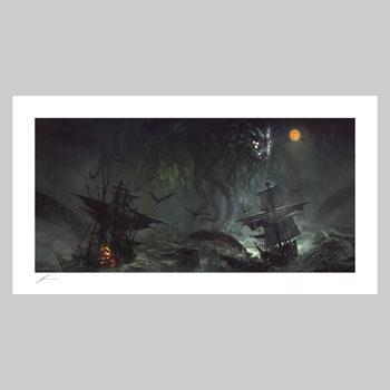 Cthulhu II Art Print