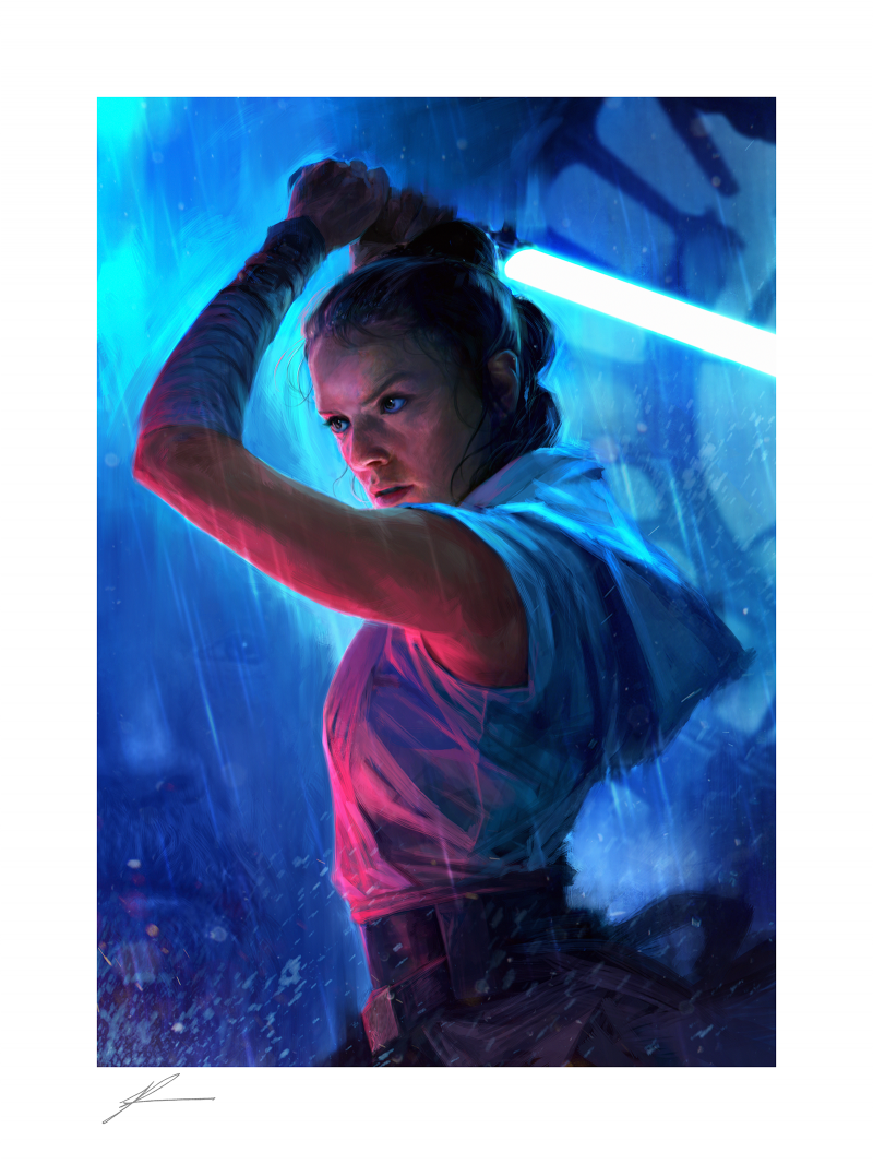 The Duel: Rey Art Print -