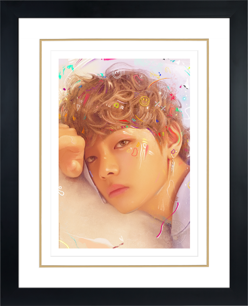 Love Yourself: V Art Print -