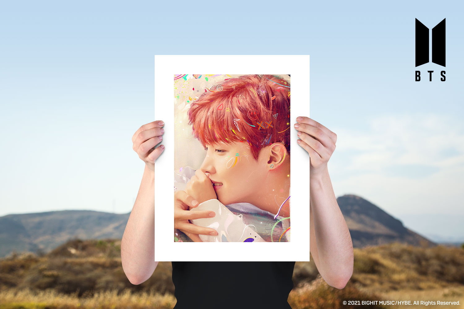 BTS: Love Yourself Art Print feature image
