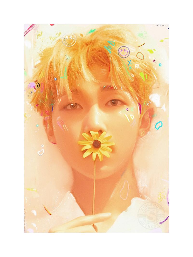 Love Yourself: RM Art Print -