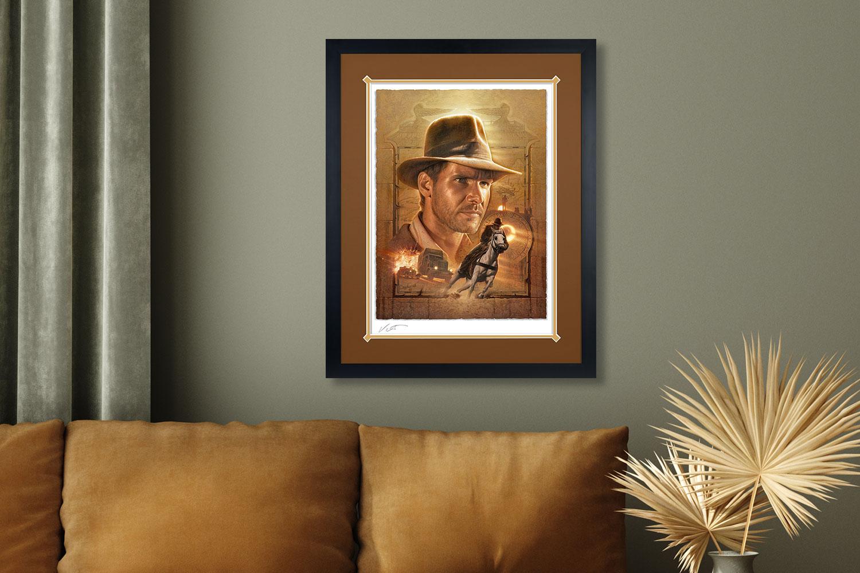 Indiana Jones: Pursuit of the Ark Art Print feature image