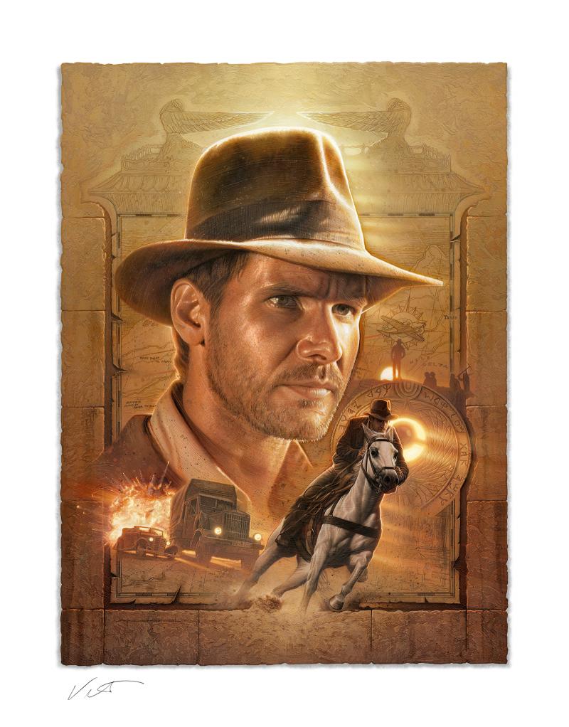Indiana Jones: Pursuit of the Ark Art Print -