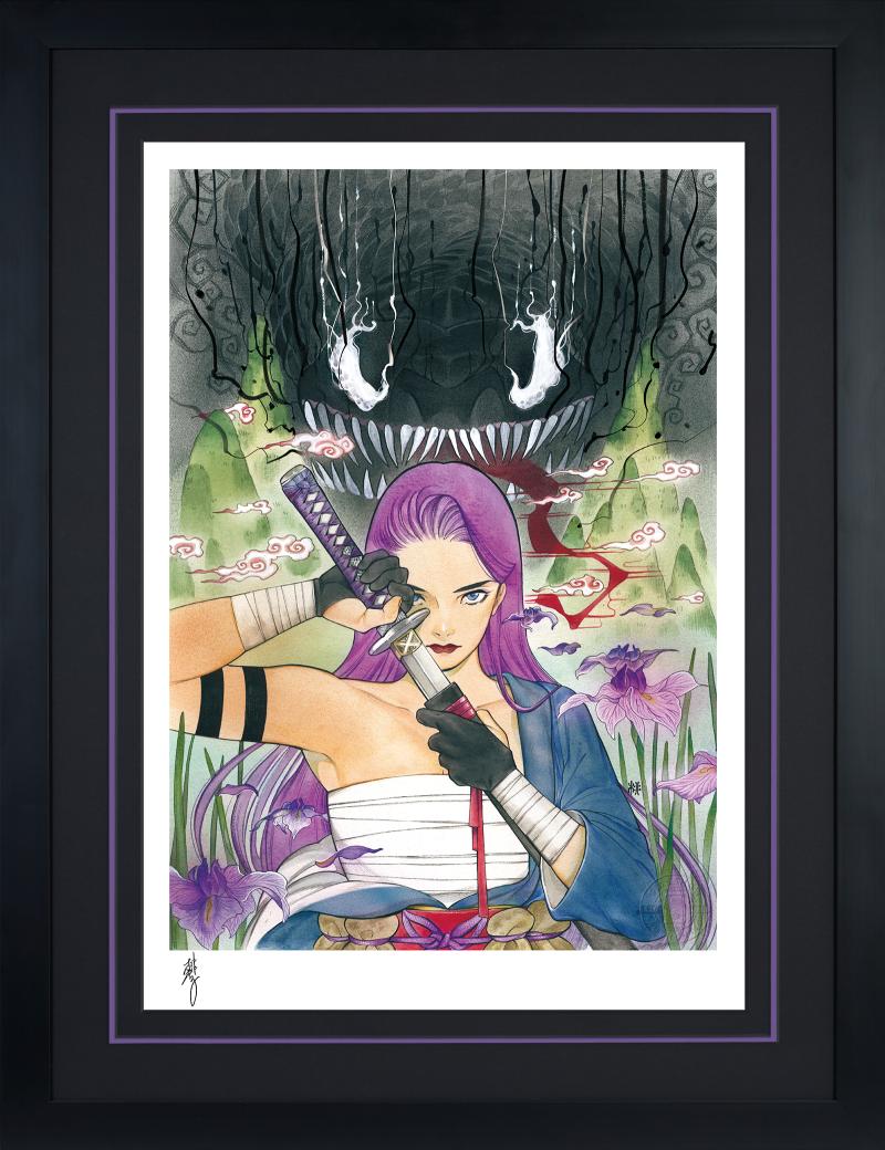 Demon Days: X-Men Psylocke Art Print -