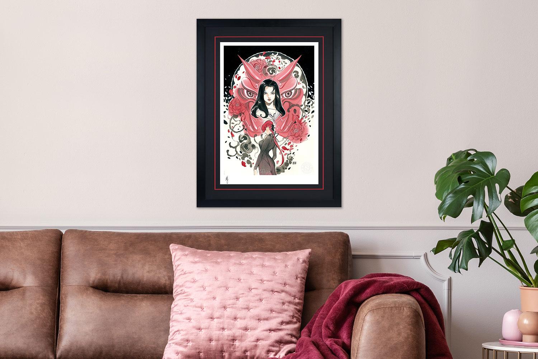 Demon Days: Mariko & Black Widow Art Print feature image
